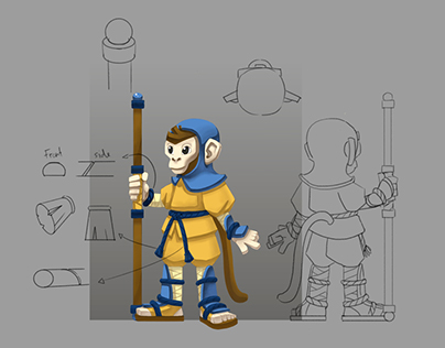 Character / Background design and 3D