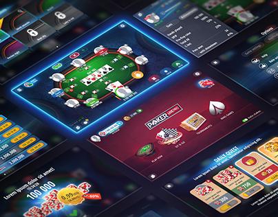 Poker LivePRO [UI Design]