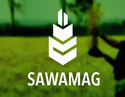 Sawamag Logo & Branding