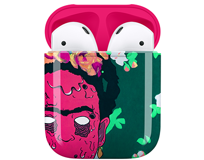 """Apple Airpods """"Grime Art"""""""