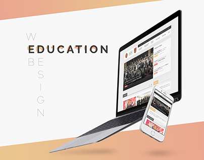 Web interface for Educational institution