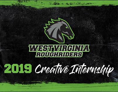 2019 WV Roughriders Creative Internship