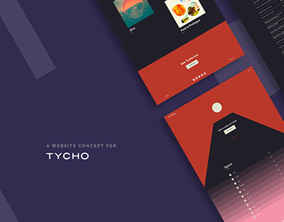 Tycho - Website Concept