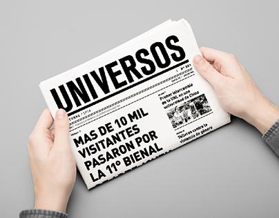 "Periódico ""Universos"""