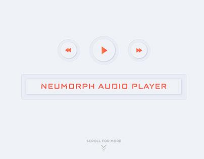Neumorphic Audio Player