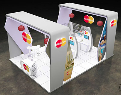 Master Card Exhibition Stand J030