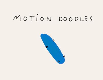 Skateboarding: Motion Doodles