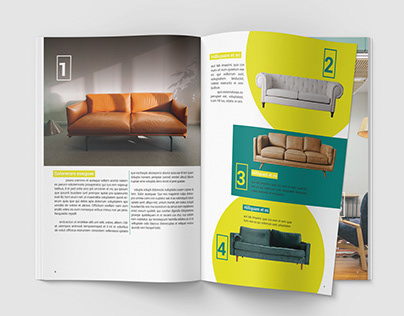 My first try a catalog-chairs of the future