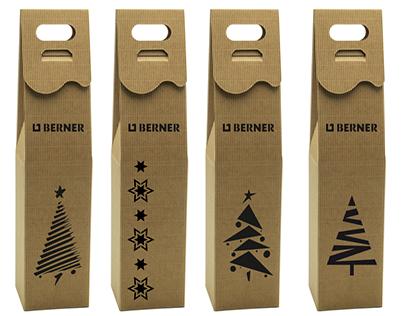 Christmas wine box - you welcome