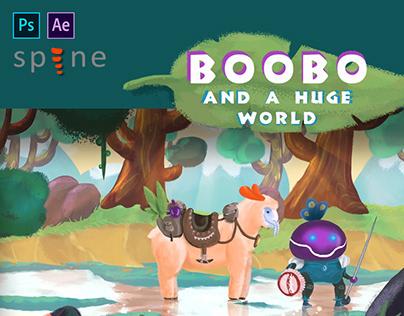 Boobo. 2D game concept