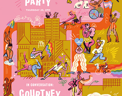 Pride Party Poster – For Soho House Berlin
