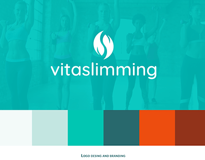 Vitaslimming - logo and branding