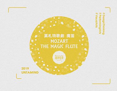MOZART: THE MAGIC FLUTE|Program Brochure Design