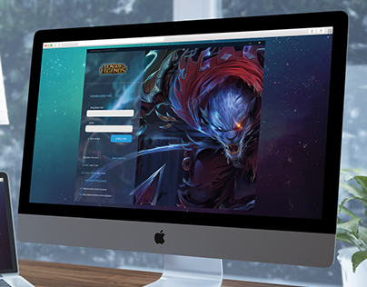 League of Legends UI/UX Design (Work In Progress)