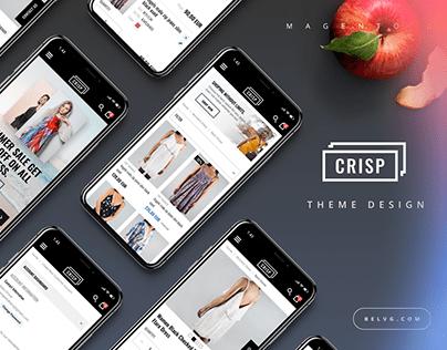 CRISP - Custom Magento 2 Theme