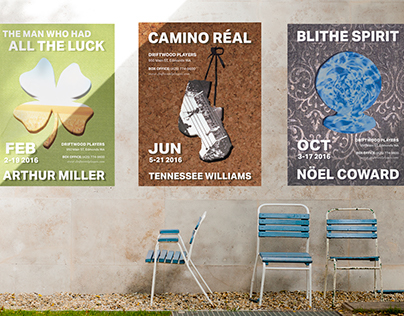 Driftwood Players Poster Series