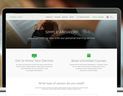 Simply Mac - Simple Answers Online Booking