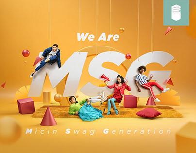 SASA - We Are MSG Campaign