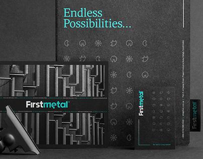 Firstmetal Brand Identity