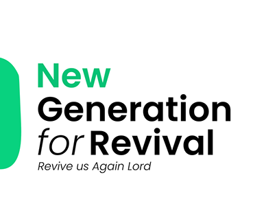 New Generation for revival Logo concept