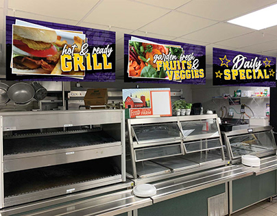 Concord HS Cafeteria Graphics