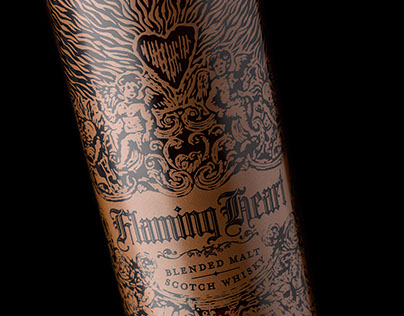 Flaming Heart 2015 Limited Edition Scotch Whisky