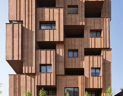 30 Houses residential building by Alireza Mashhadimirza