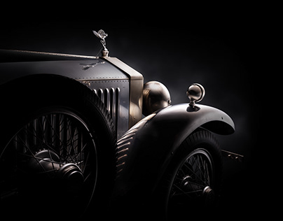 Rolls-Royce Phantom fine art shoot (Louwman Museum)