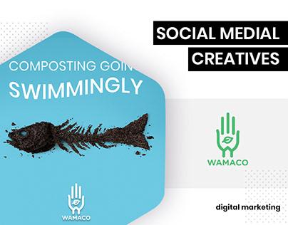 Social Media - Wamaco by BrandzGarage