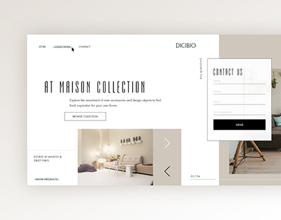 Landing Page I Furniture Online Store I Ecommerce