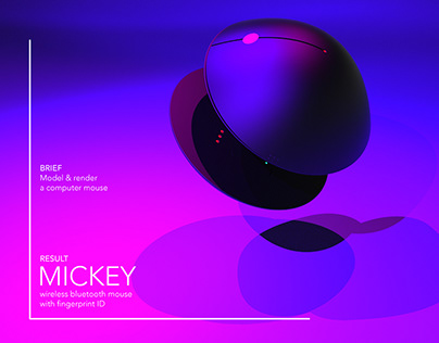 MICKEY MOUSE for Render weekly challenge