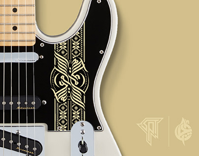 Custom Pickguard Engrave Arabic Calligraphy