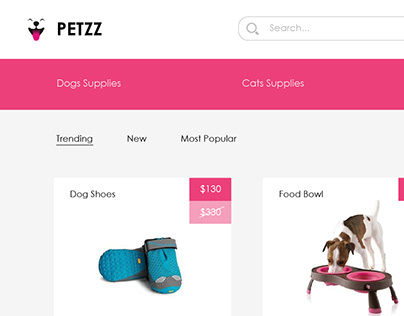 ecom template for petzz