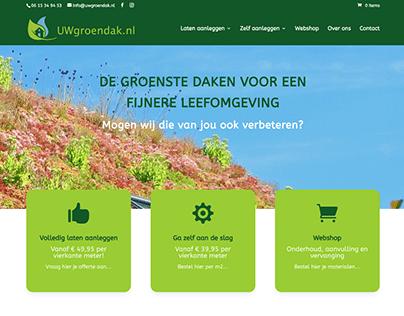 Webshop: UWgroendak.nl