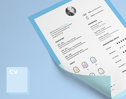 Free CV and icons! It's time to change