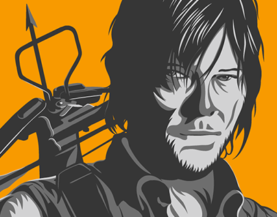 Daryl of the Walking Dead