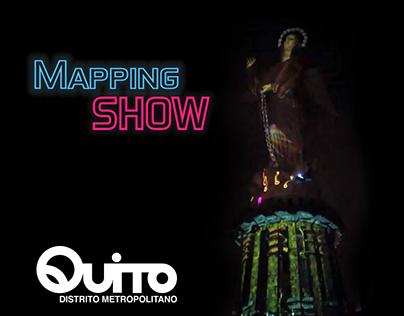 Mapping Proyect - Panecillo - Fiestas de Quito