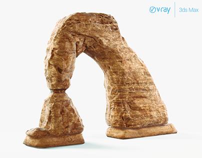 Sandstone Arch Rock Formation (Real-Time 3D Model)
