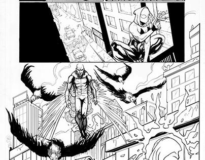 SpiderGwen - Marvel Pages Test