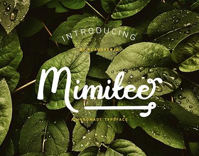 Free Mimitee Handmade Font