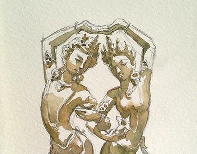 Dancing Gods couple