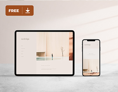Digital Mockup Freebie