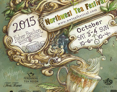NW Tea Festival 2015 Poster