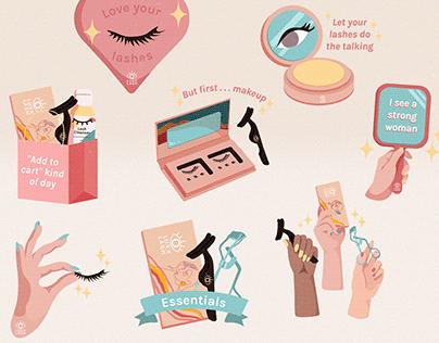 Luxx Lash Instagram Stickers