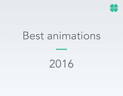 Animations by Agilie - 2016