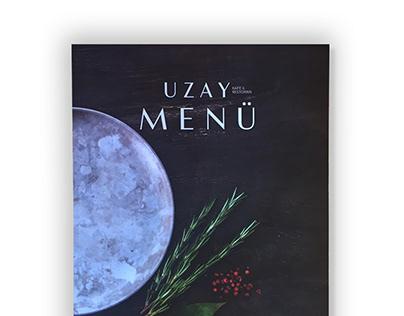 Uzay Menu Design