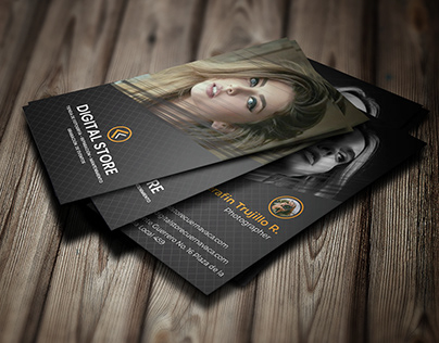 Business card design for client