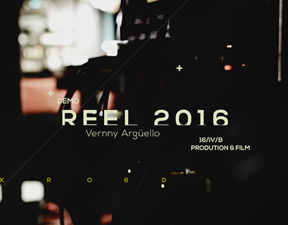 Production Reel 2016