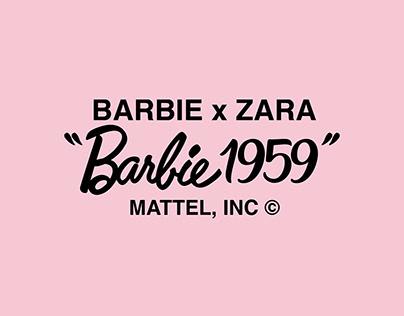 Zara TRF - Barbie x Zara