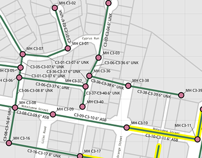 Woodbridge Sanitary District GIS Basemap